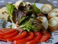 Salade Ride The Flavour et ses oeufs mollets!