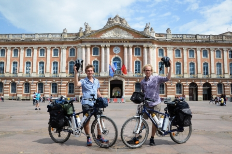 Ride the Flavour au coeur de Toulouse !
