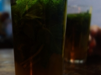 Le thé à la menthe