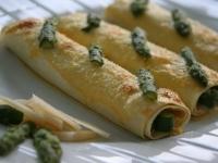 FR : Cannelloni d'asperges vertes EN : Aparagus cannelloni