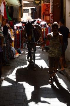 Rue de la médina de Fes